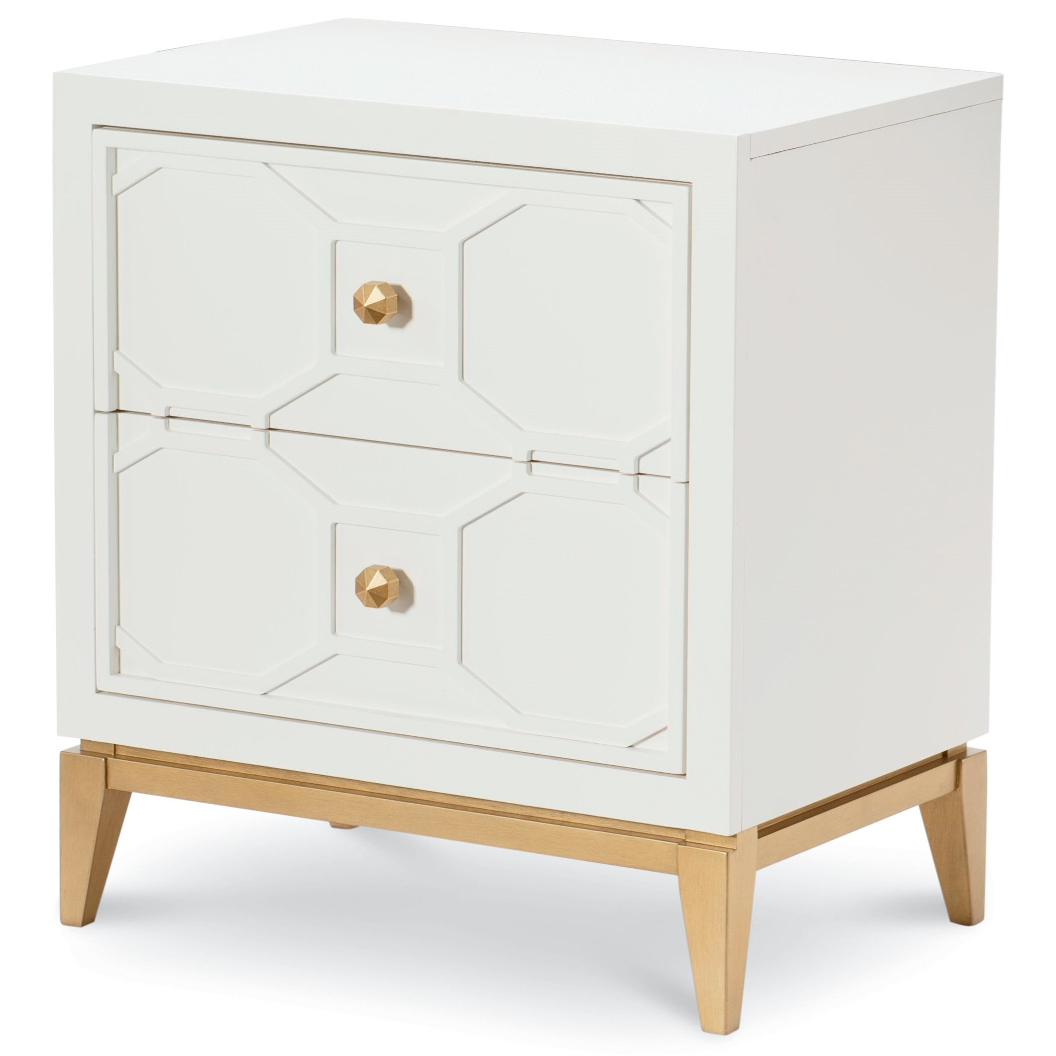 Chelsea Night Stand with Decorative Lattice by Rachael Ray Home by Legacy Classic at Stoney Creek Furniture