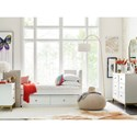 Rachael Ray Home by Legacy Classic Chelsea Upholstered Daybed with Underbed Storage Drawer