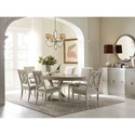 Rachael Ray Home by Legacy Classic Cinema Formal Dining Room Group - Item Number: 7200 Dining Room Group 4