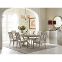 Rachael Ray Home by Legacy Classic Cinema Upholstered Side Chair  With Circle Detail