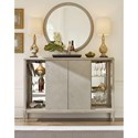 Rachael Ray Home by Legacy Classic Cinema Sliding Door Bar Cabinet With Wine Shelves