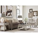 Rachael Ray Home by Legacy Classic Cinema Rectangular 2 Drawer Cocktail Table