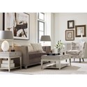 Rachael Ray Home by Legacy Classic Cinema Square End Table with Drawer and Shelf