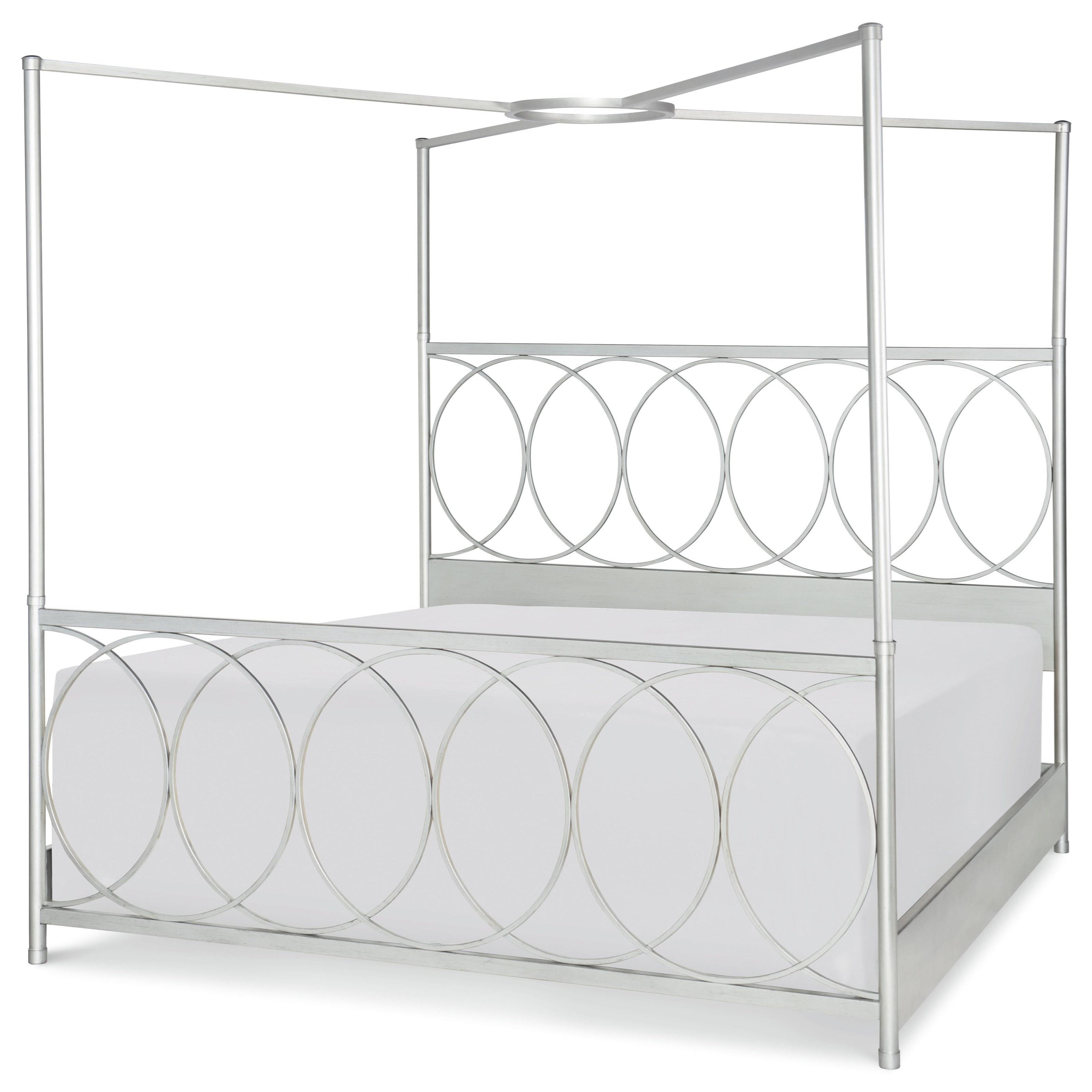 Queen Metal Canopy Bed