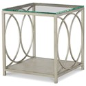 Rachael Ray Home by Legacy Classic Cinema Glass Top End Table  - Item Number: 7200-505