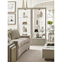 Rachael Ray Home by Legacy Classic Cinema Etegere with Adjustable Glass Shelves