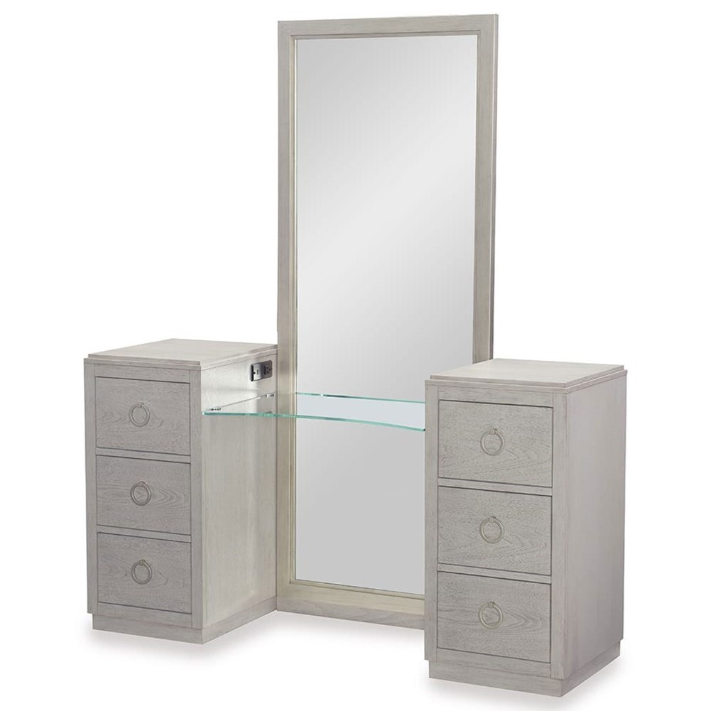 Rachael Ray Home by Legacy Classic Cinema 6 Drawer Vanity - Item Number: 7200-7400