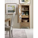 Rachael Ray Home by Legacy Classic Everyday Dining Pantry Cabinet with Wine Storage Rack