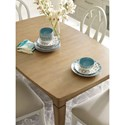 Rachael Ray Home by Legacy Classic Everyday Dining Shaped Leg Storage Table With Leaf