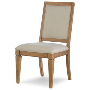 Rachael Ray Home by Legacy Classic Everyday Dining Upholstered Back Side Chair
