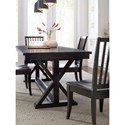 Rachael Ray Home by Legacy Classic Everyday Dining Trestle Table And 4 Side Chairs - Item Number: 7003-421K+4x240 KD