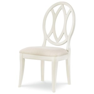 Rachael Ray Home by Legacy Classic Everyday Dining Oval Back Side Chair