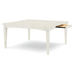 Rachael Ray Home by Legacy Classic Everyday Dining Rectangle to Square Leg Table