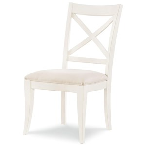 Rachael Ray Home by Legacy Classic Everyday Dining X Back Side Chair