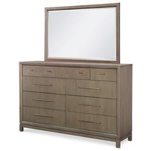 Rachael Ray Home by Legacy Classic High Line Dresser & Mirror