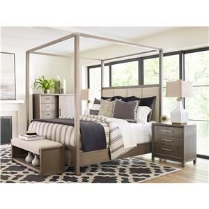 Rachael Ray Home by Legacy Classic High Line Queen Canopy Bedroom Group