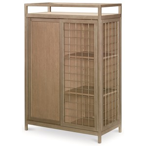 Rachael Ray Home by Legacy Classic Hudson Metal Sports Chest