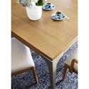 Rachael Ray Home by Legacy Classic Hygge  Contemporary Leg Table with Leaf