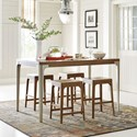 Rachael Ray Home by Legacy Classic Hygge  5 Piece Pub Dining Set - Item Number: 7600-920+4x946 KD