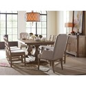 Rachael Ray Home by Legacy Classic Monteverdi  Formal Dining Room Group - Item Number: 7500 Dining Room Group 1