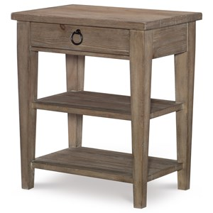 Rachael Ray Home by Legacy Classic Monteverdi  Leg Night Stand