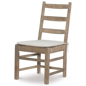 Rachael Ray Home by Legacy Classic Monteverdi  Ladder Back Side Chair