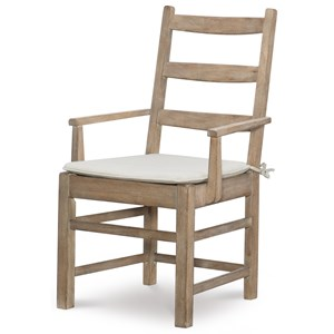Rachael Ray Home by Legacy Classic Monteverdi  Ladder Back Arm Chair