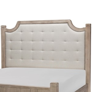 Rachael Ray Home by Legacy Classic Monteverdi  Queen Upholstered Headboard