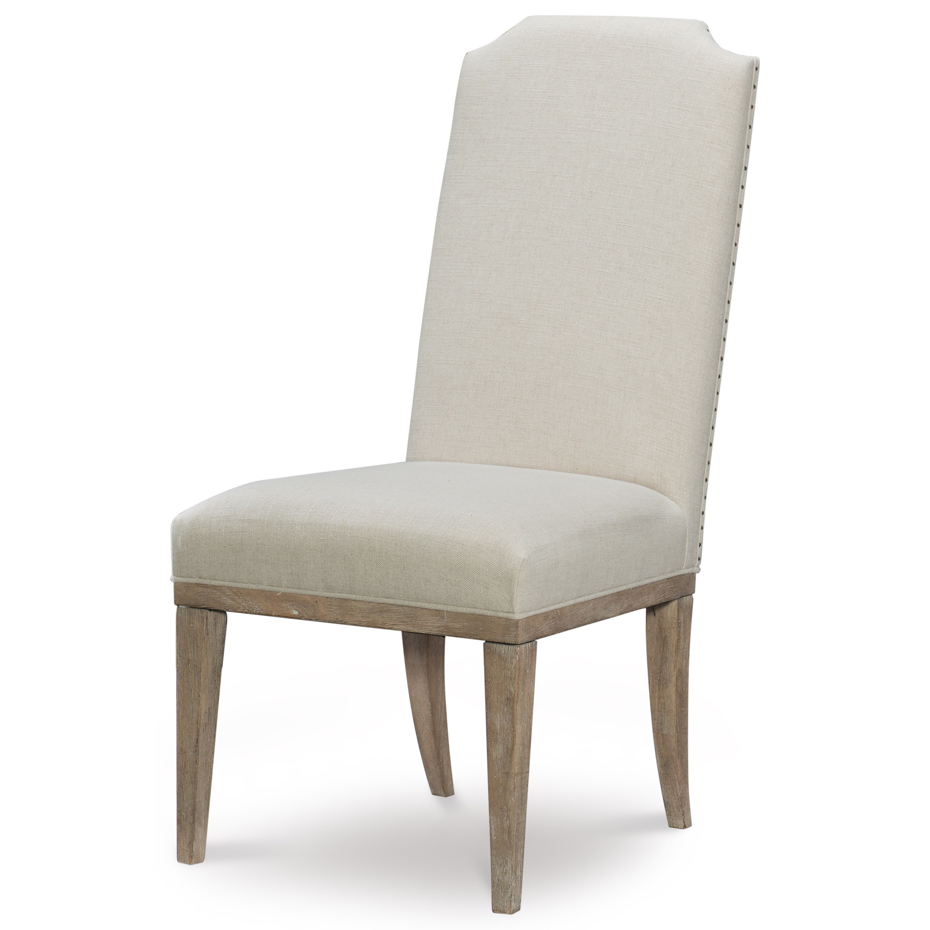 Rachael Ray Home By Legacy Classic Monteverdi 9864124 Upholstered Host Side Chair Pilgrim Furniture City Dining Side Chairs