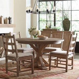 Rachael Ray Home by Legacy Classic Monteverdi 5 Piece Round Table Set & Table and Chair Sets | Fredericksburg Richmond Charlottesville ...