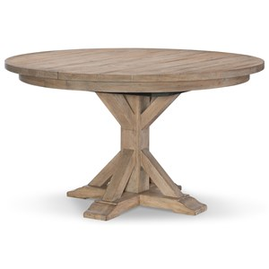 Rachael Ray Home by Legacy Classic Monteverdi  Round to Oval Pedestal Table
