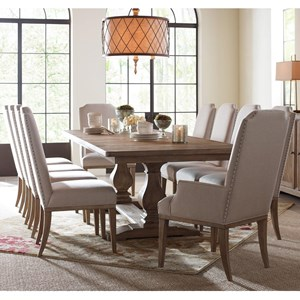 11 Piece Rectangular Table Set