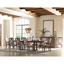 Rachael Ray Home by Legacy Classic Refined Rustic Dining Room Group - Item Number: 9050 Dining Room Group 1