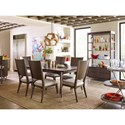 Rachael Ray Home by Legacy Classic Soho Dining Room Group - Item Number: 6020 Dining Room Group 2