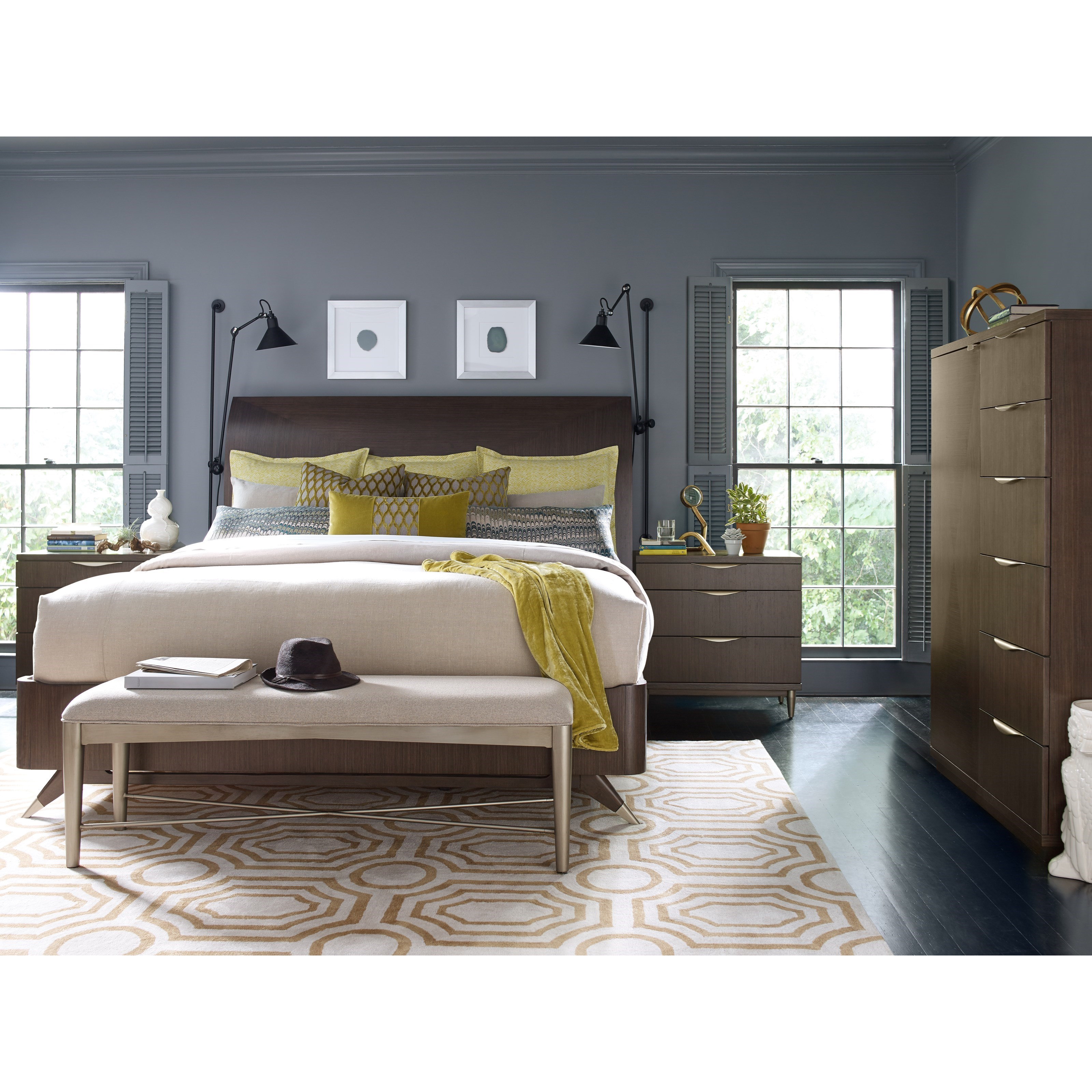 Rachael Ray Home by Legacy Classic Soho California King Bedroom Group - Item Number: 6020 CK Bedroom Group 3