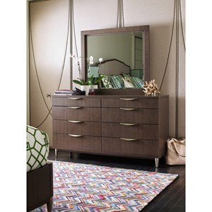 Rachael Ray Home Soho Dresser with Mirror