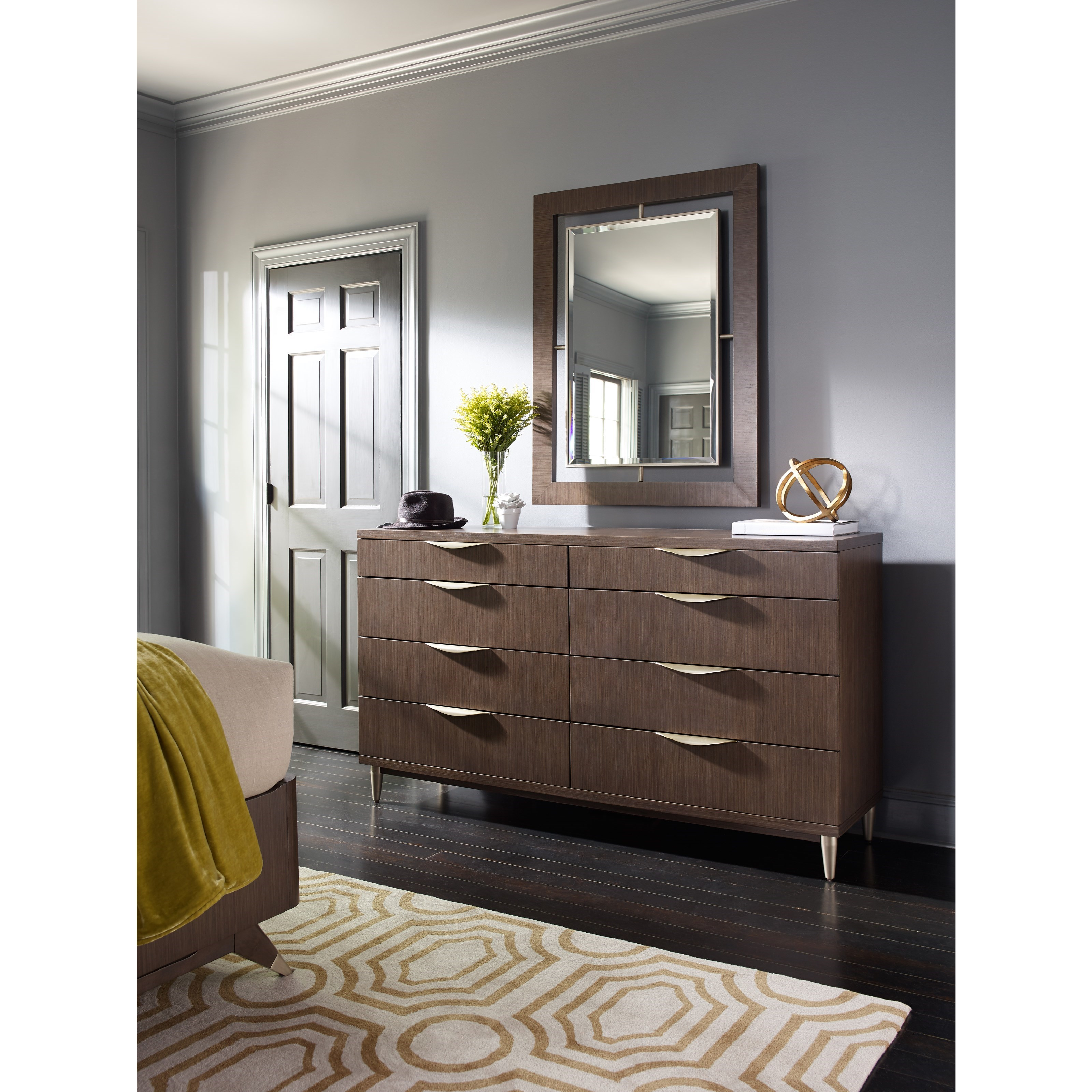 Rachael Ray Home by Legacy Classic Soho Dresser with Mirror - Item Number: 6020-1200+0800