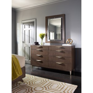 Rachael Ray Home by Legacy Classic Soho Dresser with Mirror