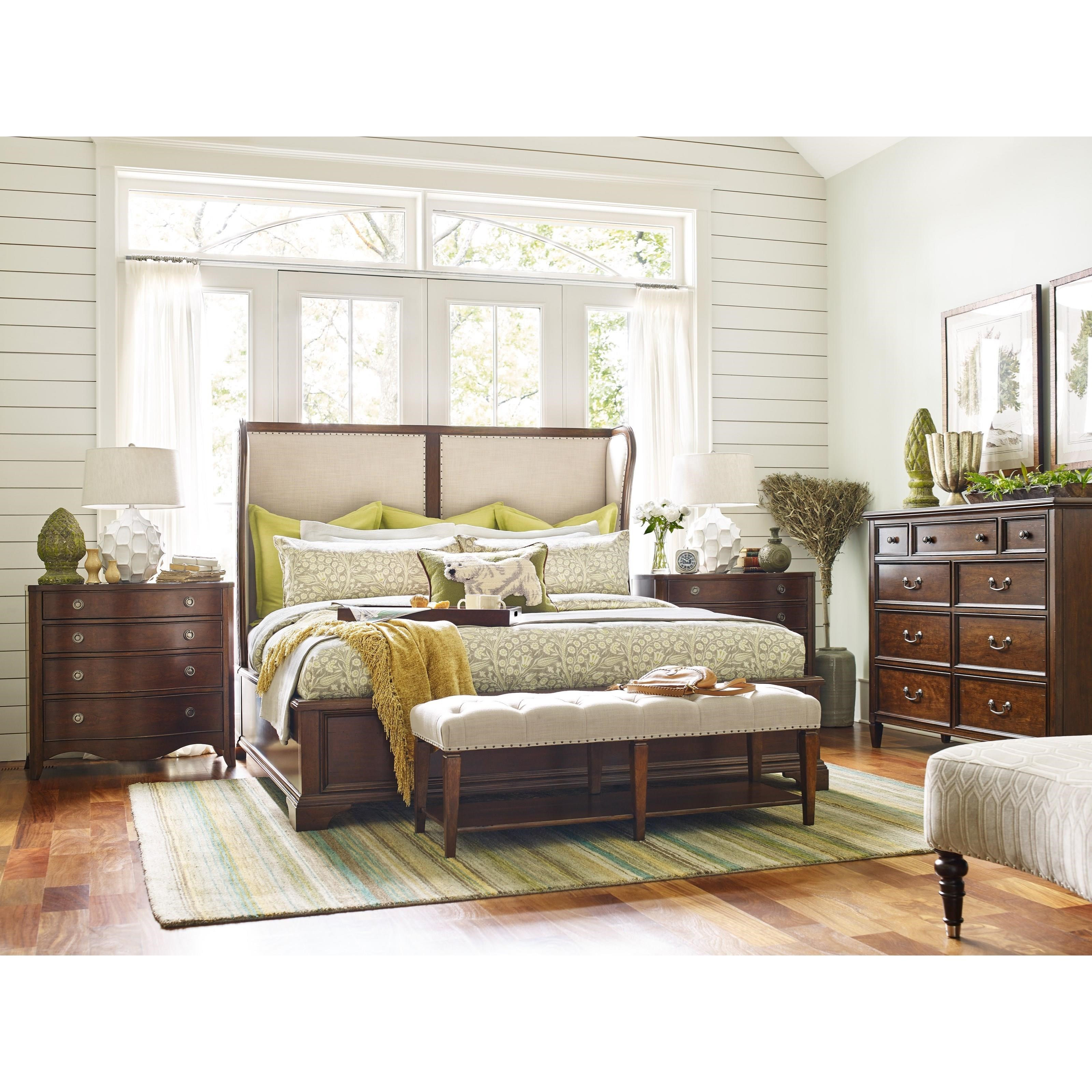 Rachael Ray Home by Legacy Classic Upstate King Bedroom Group - Item Number: LEGA-GRP-6040-KINGSUITE