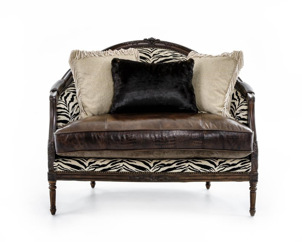 Rachlin Classics Claudine Chair - Item Number: CLAUDINE Lush Fur