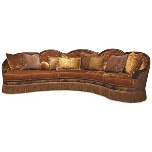 Rachlin Classics Grace 3pc Sectional Sofa