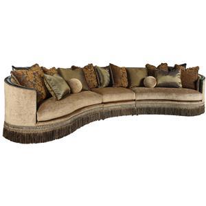 Superb Rachlin Classics Whitney 3 Piece Sectional Sofa