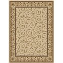 Radici USA Cosmo 5.5 x 7.7 Area Rug : Ivory - Item Number: 985921937