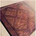 Rare Collections Castlegate Traditional Trestle Dining Table with 2 Leaves
