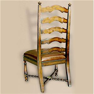 Rare Collections Castlegate Ladder Back Side Chair