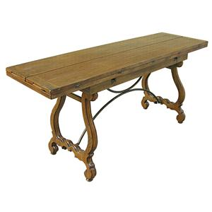 Rare Collections Channel Crossings Flip Top Console Dining Table