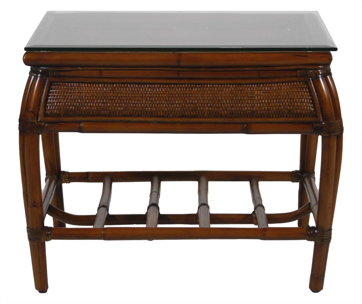 Ratana Waikele End Table - Item Number: FN41205WAL C WAIKELE
