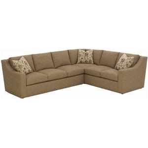 Bruno 2 Pc. Sectional Sofa with RAF Return by RC Furniture by Rene Cazares