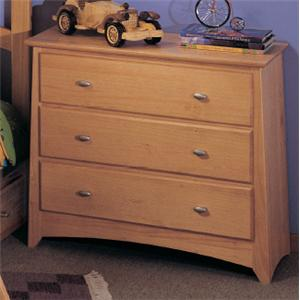 Renar Furniture Contempo Youth 3 Drawer Chest