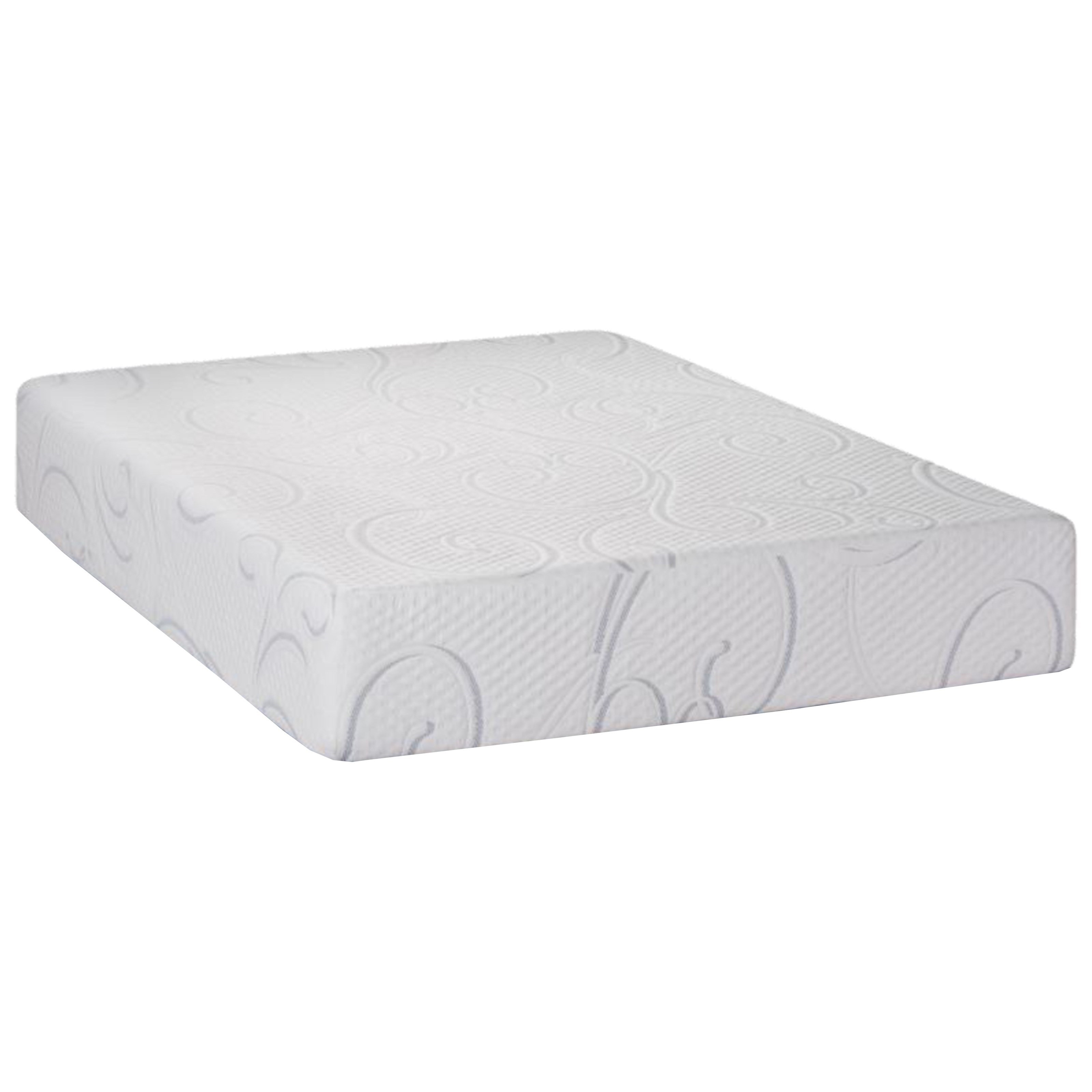 "Queen 12"" Gel Memory Foam Adj Set"